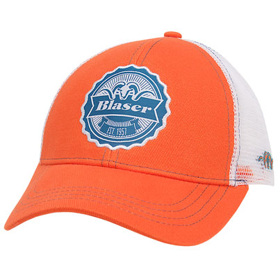 Blaser Est. 1957 Mesh Back Hat - Orange