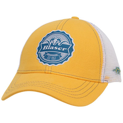 Blaser Est. 1957 Mesh Back Hat - Yellow