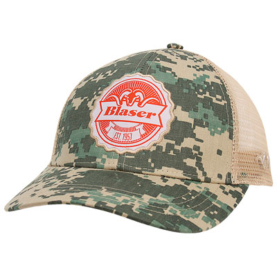 Blaser Est. 1957 Mesh Back Hat - Light Camo